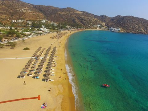 Mylopotas Ios Cyclades Greece