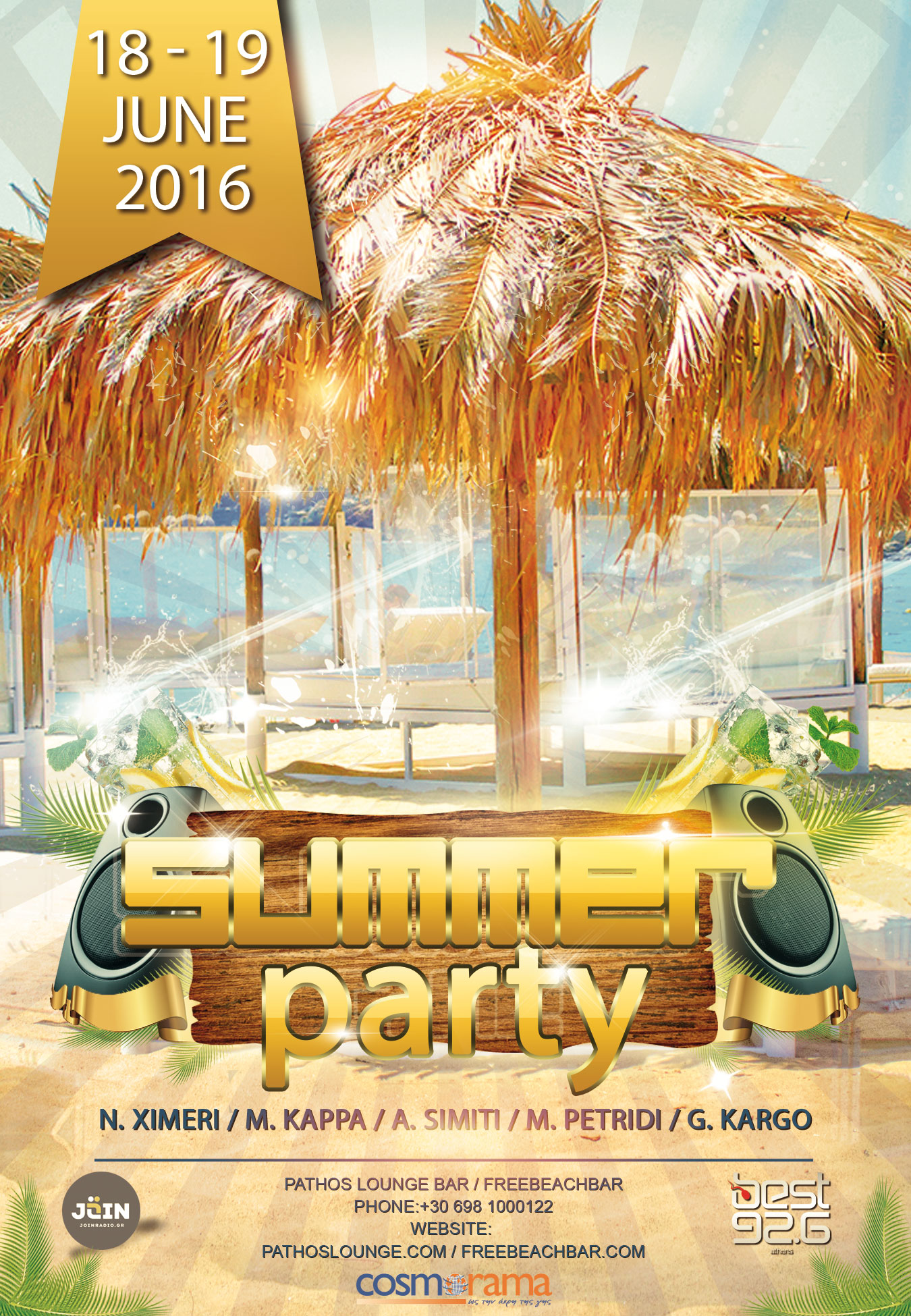 Free Beach Bar Event